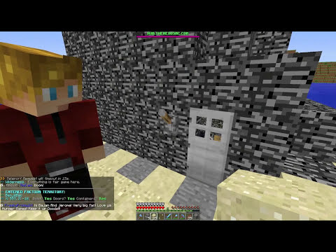 Minecraft: FACTIONS Ep. 2 - How To Build a Base + Home Protection
