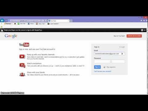 How to upload a video to Youtube 2014