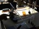 fabricacion de cisne en vidrio borosilicato