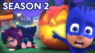 PJ Masks Halloween Tricksters! 🎃SEASON 2 HALLOWEEN SPECIAL 🕸Cartoons for Kids