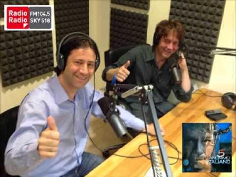 """""""Anonimo Italiano intervista a Radio Radio per il nuovo album """"FIVE"""""""""""