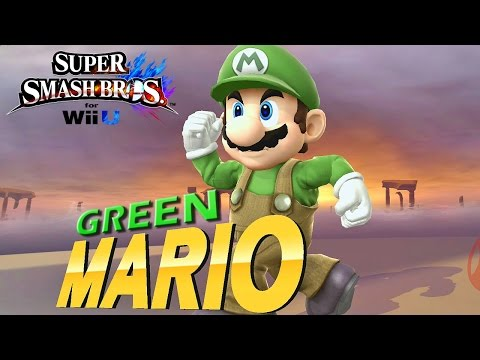 Super Smash Bros. for Wii U: Mario Verde, Super Sonic e muito mais - Exclusivo Nintendo