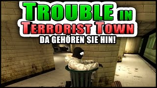 Alle müssen in die Mülltonne! | Trouble in Terrorist Town! - TTT | Zombey
