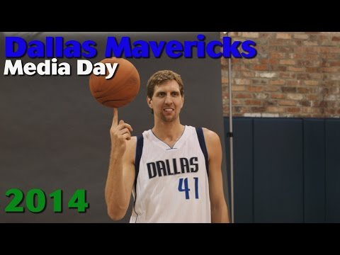 Sights and Sounds from Dallas Mavericks Media Day - 2014