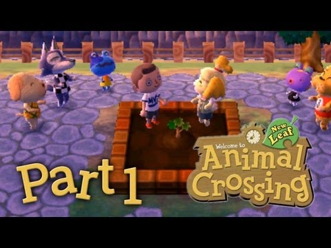 Let's Play Animal Crossing New Leaf Part 1 - Unsere neue Stadt
