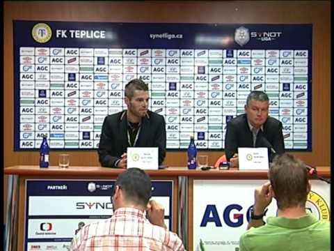 Tisková konference po utkání se Sigmou Olomouc (25.7.2015)