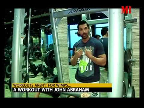 Get fit with John Abraham