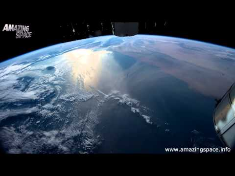 View From Space Time Lapse 4K Ultra HD  Video - Earth From ISS : NASA