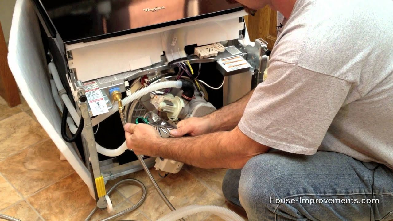 How To Replace Or Install A Dishwasher Youtube