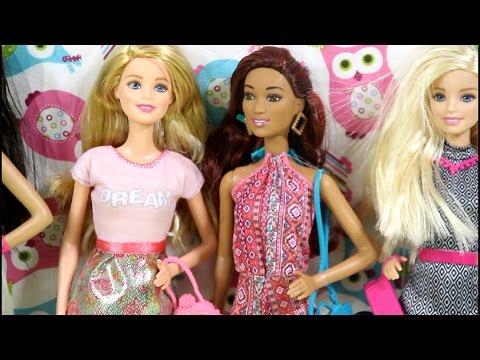 Barbie Fashionistas Dolls In The Cafeteria / Barbie Modne Przyjaciółki W Kawiarni - Scenka