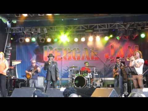 Errol Dunkley live at Reggae Jam 2014