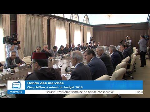 Hebdo des marchés : 5 chiffres à retenir du budget 2016