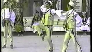 VALLE DYSHE BURRASH.DIBRANE. grupi i dibres ghirokaster.1983