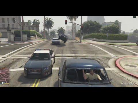 GTA 5 When Slidey Car Testing goes Wrong,COPS! SlamVan/Bison