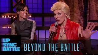 Beyond the Battle with Ruby Rose & Milla Jovovich | Lip Sync Battle