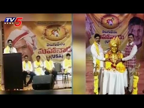 TDP Mahanadu Grand Celebrations in Dallas | USA | TV5 News
