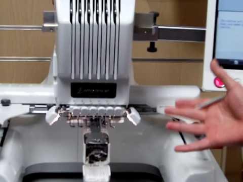 industrial monogramming machine
