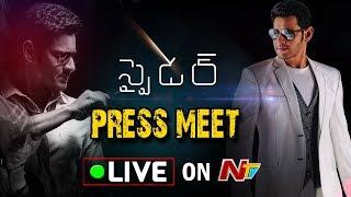 SPYder Press Meet LIVE || Mahesh Babu, Rakul Preet Singh, A R Murugadoss || #Spyder