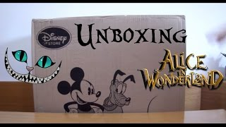 Unboxing Pacco #01 - Acquisti Disney Store (Alice Through The Looking Glass)