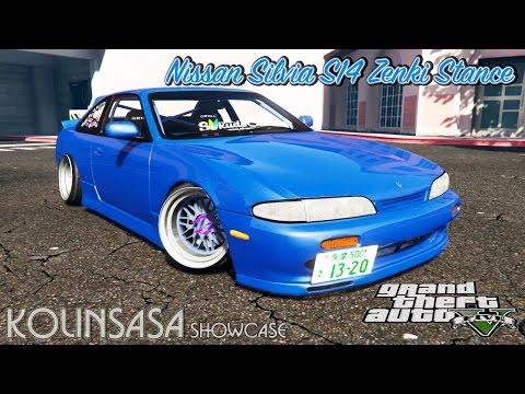 Nissan Silvia S14 Zenki Stance