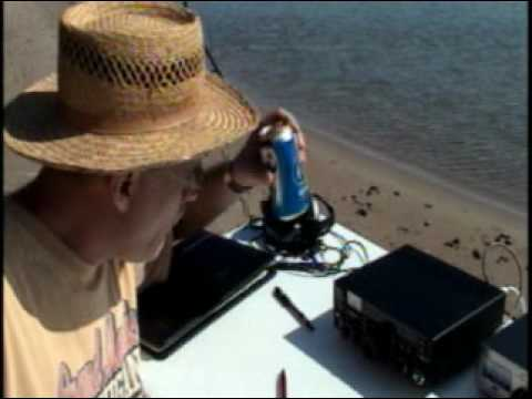 N6tlu QRP Adventure Drummond Island UP MI Ham Radio
