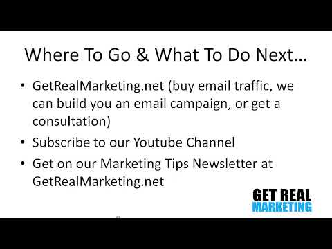 Email Marketing Tips - 3 Do-or-Die Email Marketing Tips