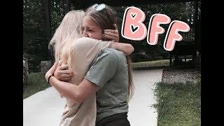meeting my internet best friend :3