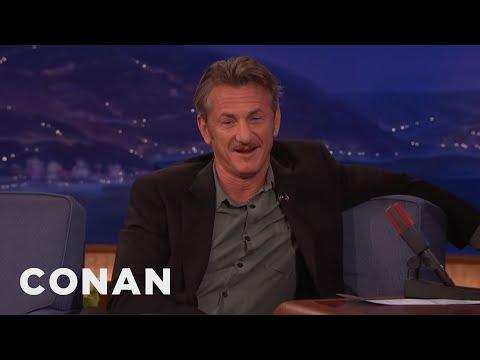 Sean Penn On His Oscars Green Card Joke  - CONAN on TBS
