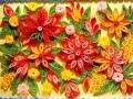 квиллинг - цветы из бумаги, красиво.