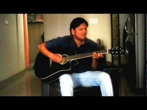 Dhere Dhere Se Meri Zindgi Main Aana Guitar Chords video