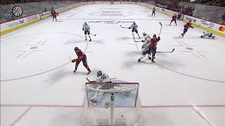 Drouin scores first goal as a Canadien with perfect deflection