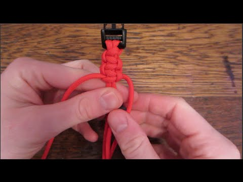 Easy Paracord Bracelet Tutorial!