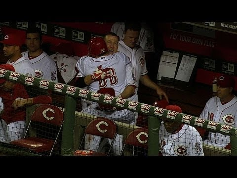 Todd Frazier delivers a special moment for bat boy
