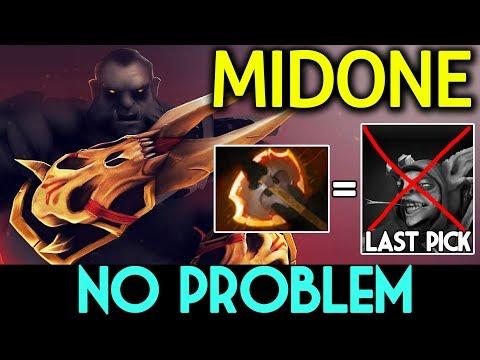 MIDONE DOTA 2 7.07 [Lycan] Meepo Last Pick !? No Problem