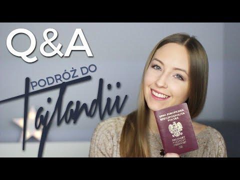 Q&A Podróż Do Tajlandii | Przygotowania, Szczepionki, Pakowanie