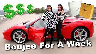BOUJEE for a WEEK -  Merrell Twins