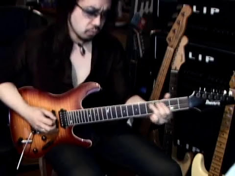 GARY MOORE - The LONER coverd by Kelly SIMONZ