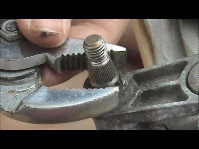 How to Repair Seized Wiper Spindles - YouTube