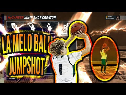 NBA 2K17 - HOW TO CREATE LaMelo BALL JUMPSHOT
