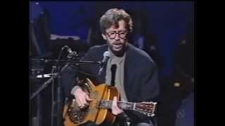 Eric Clapton - Walking Blues - First take, part 2 (Very rare sight) MTV