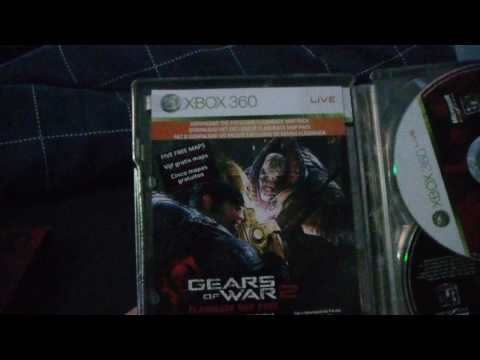 Gears Of War 2 - Collectors Edition Unboxing
