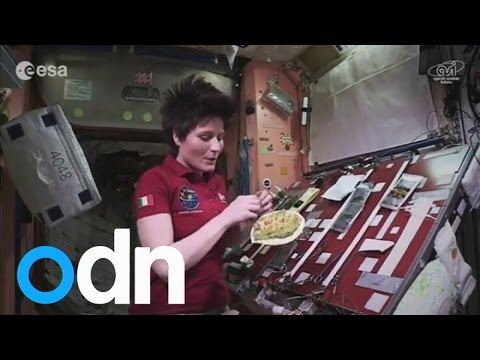 Cooking in space: How to make a meal in zero gravity