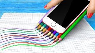 11 Weird Ways To Sneak Gadgets Into Class / School Pranks And Life Hacks