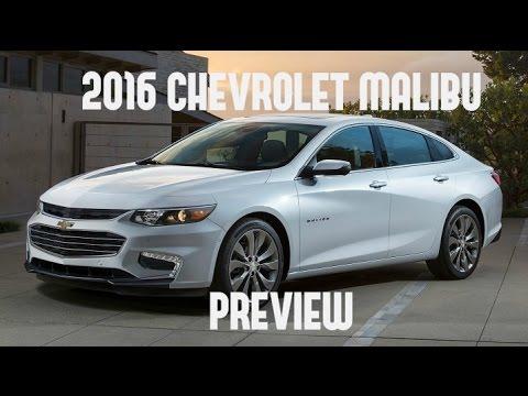 2016 Chevrolet Malibu Preview NYIAS