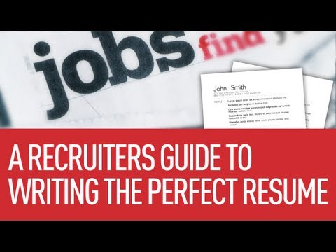 9 Tips For Writing The Perfect Resume