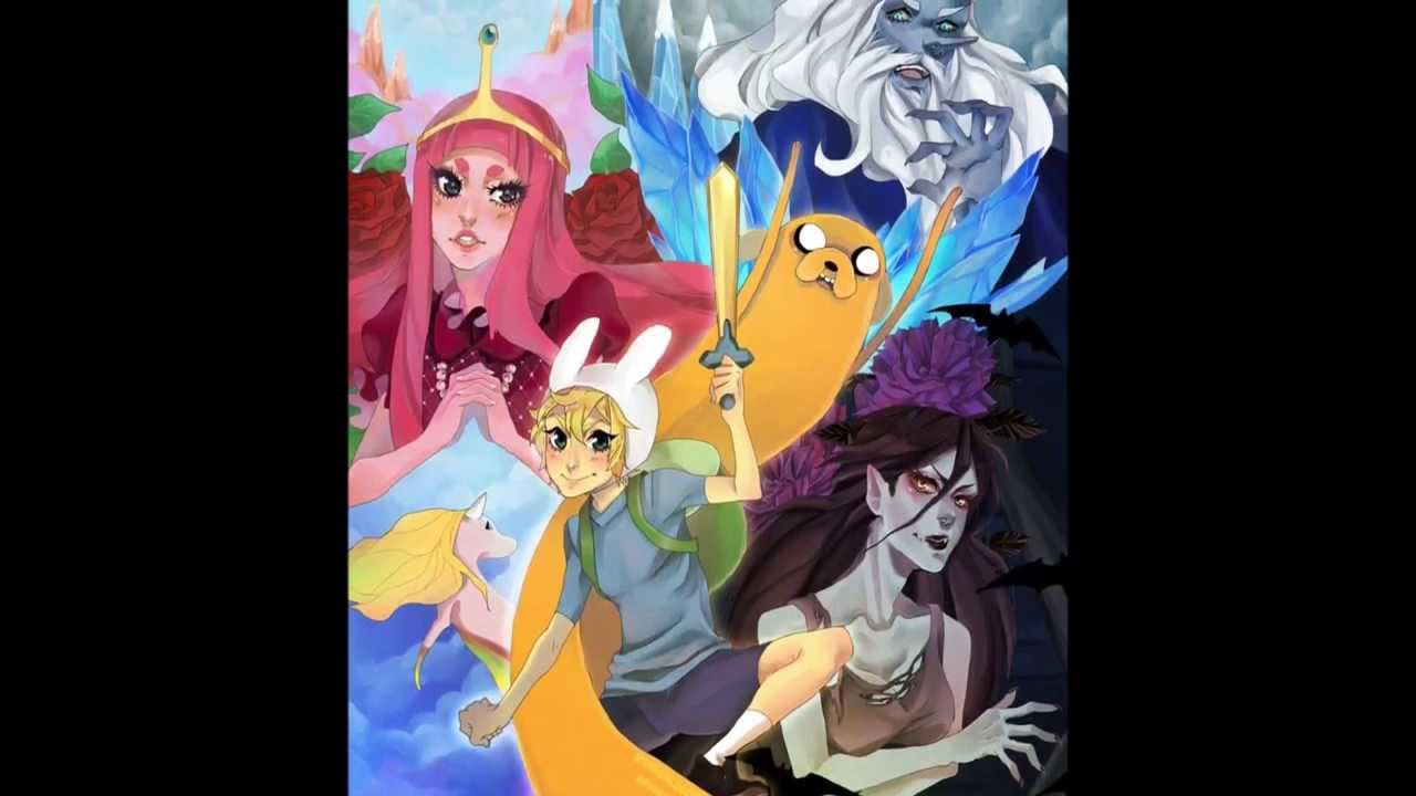 Adventure Time Anime Style Part III - YouTube