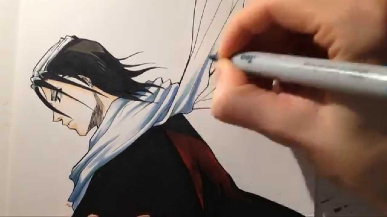 Bleach Byakuya Drawing Drawing Byakuya Kuchiki