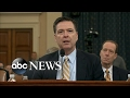 James Comey testifies about the White House, Russian hacking and Trump's wiretapping claims