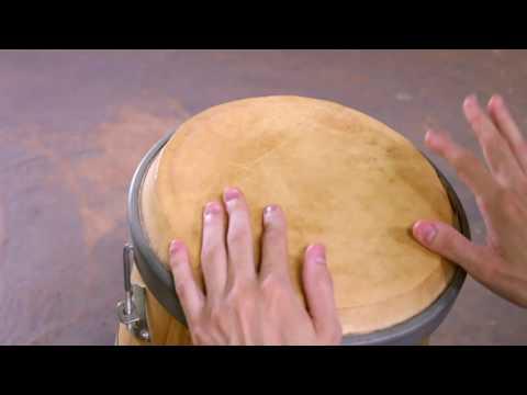 Vídeo Aula de Atabaque - Repique de Samba Cabula #2A