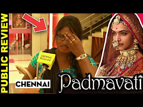 Padmaavat Public Review | Chennai Response | Movie Controversial or Made up for Promotions???